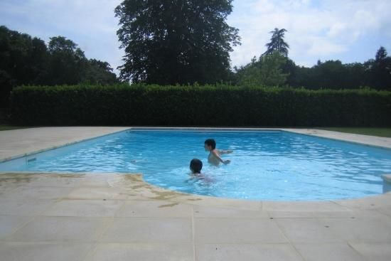 Chateau Champvallins Loire Valley - Swimming Pool